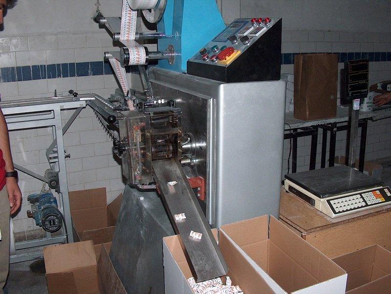Satın al Оборудование для обёртки в один кубик (подушка)