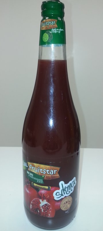 SQUEEZED POMEGRANATE JUICE 1000 ml.