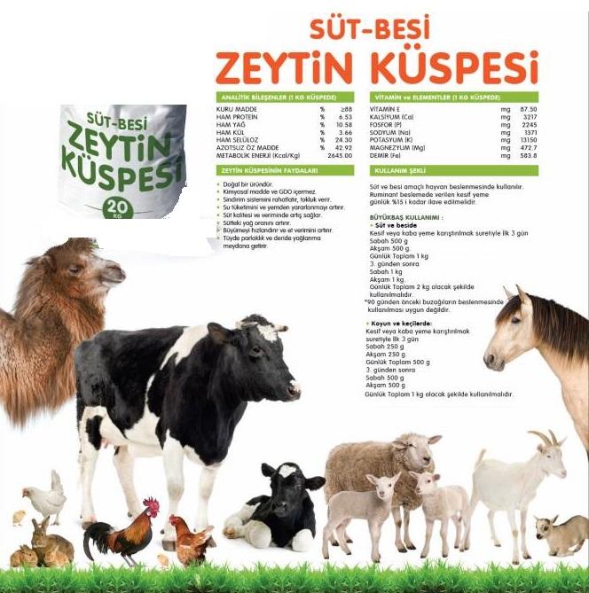 Satın al Zeytin Küspesi