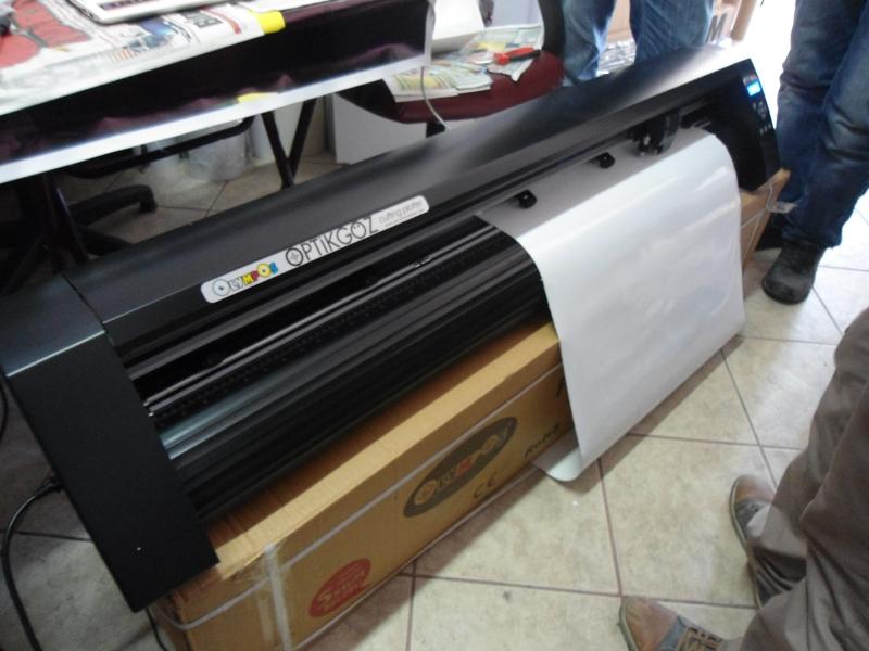 Satın al Olympos 2.el plotter kesim makinası