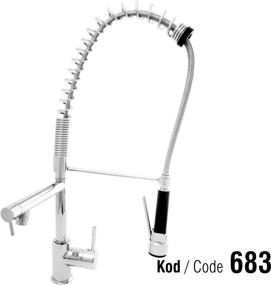 Industry kitchen faucet