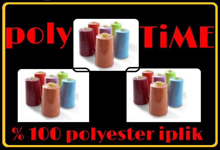 POLY - AS POLYESTER SEWİNG THREAD (POLYESTER DİKİŞ İPLİĞİ)