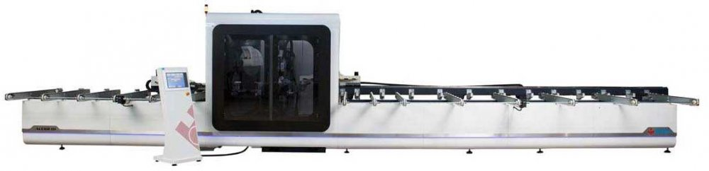 Satın al CNC CNC Controlled Aluminum and PVC Processing And Cutting Center (8 Axis)