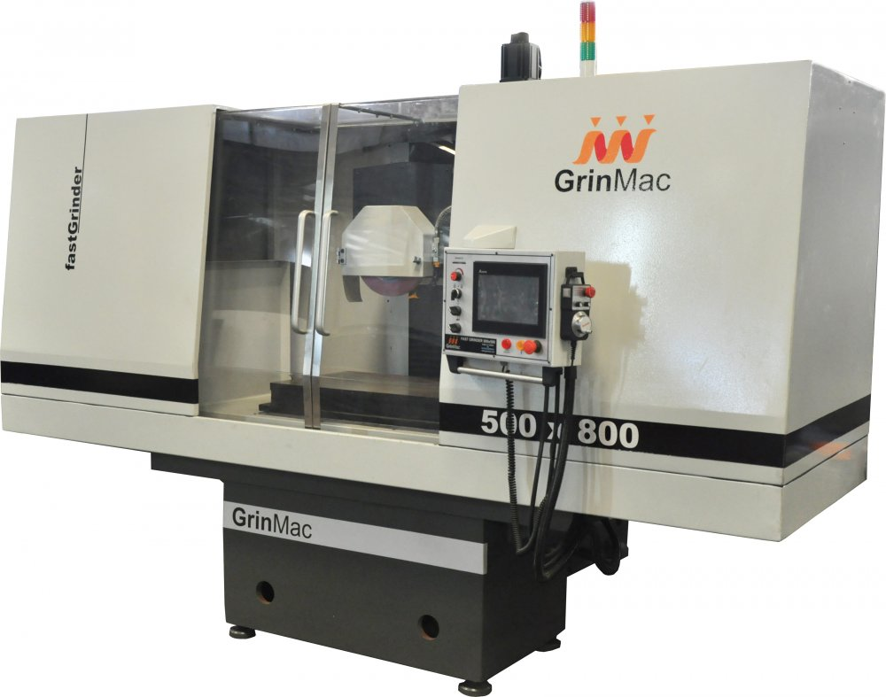 """CNC ""SURFACE GRINDING MACHINE (GrinMAC)"