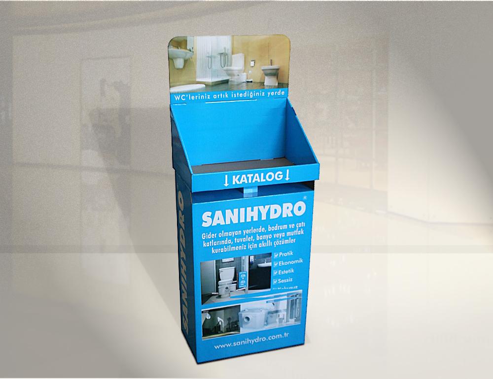 Satın al Raflı karton stand