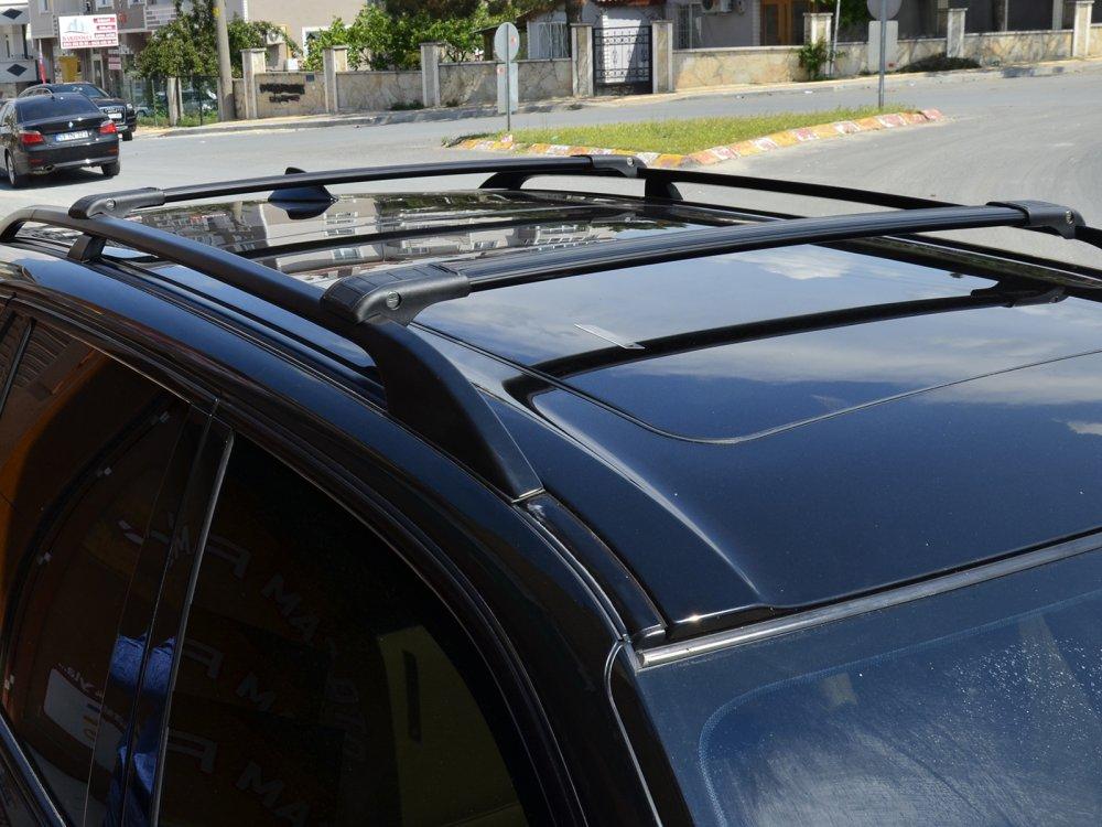 Satın al BMW X5 LOCKABLE BLACK CROSS BAR 2000 - 2013 MODELS