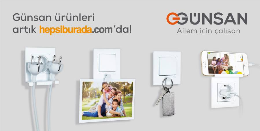 Satın al Компания Gunsan - электроустановочные изделия и монтажные аксессуары.