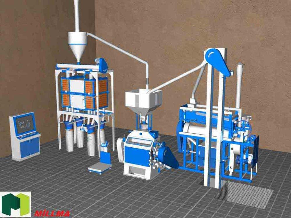 Satın al Harina mill machine