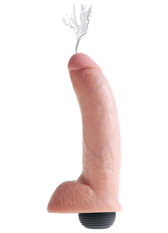 Satın al Boşalma Özellikli Damarlı ve Testisli Penis 23 Cm