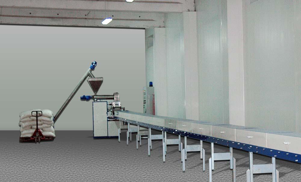 Satın al Оборудование для производства и упаковки кускового прессованного и колотого сахара