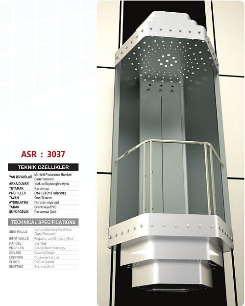 Satın al Asir Elevator Panoramic Elevator Cabins