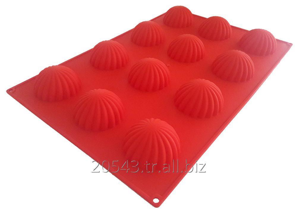 Satın al Etekli dome silikon kalıp - silicone cake mould