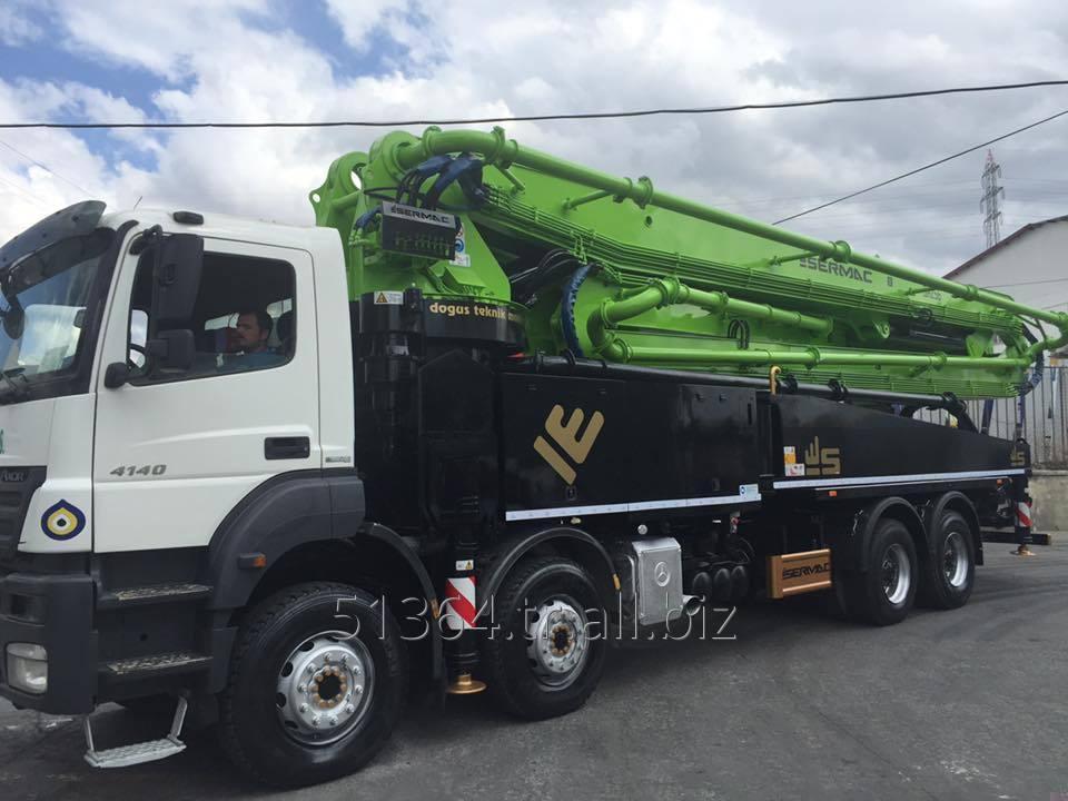 Satın al 6RZ56 Truck-Mounted Concrete Pump