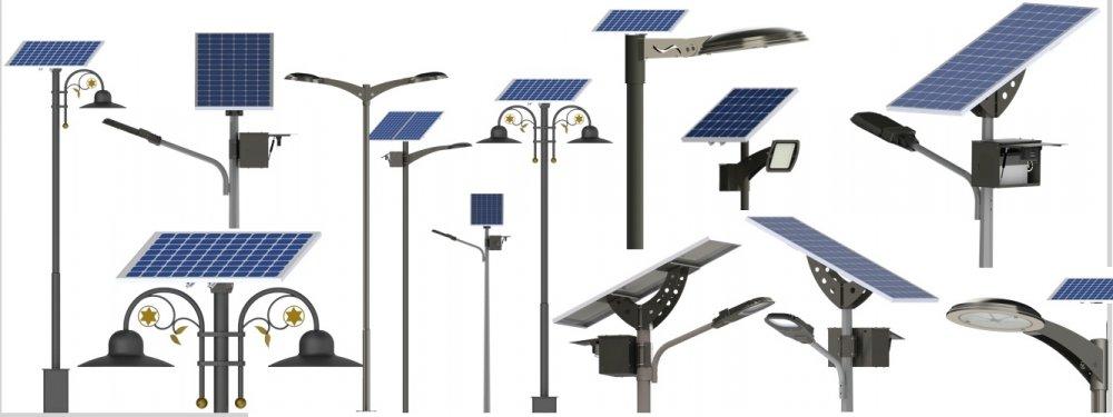 Satın al Güneş enerjili aydınlatma direkleri
