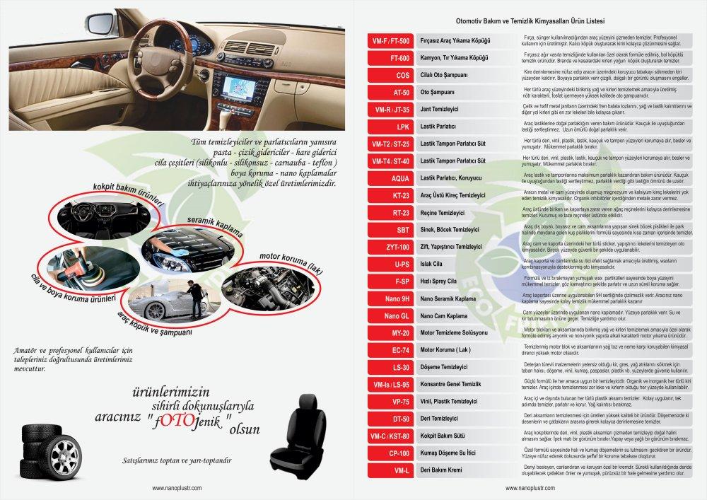 Satın al ARAÇ BAKIM ve TEMİZLİK ( Auto Care and Cleaning )