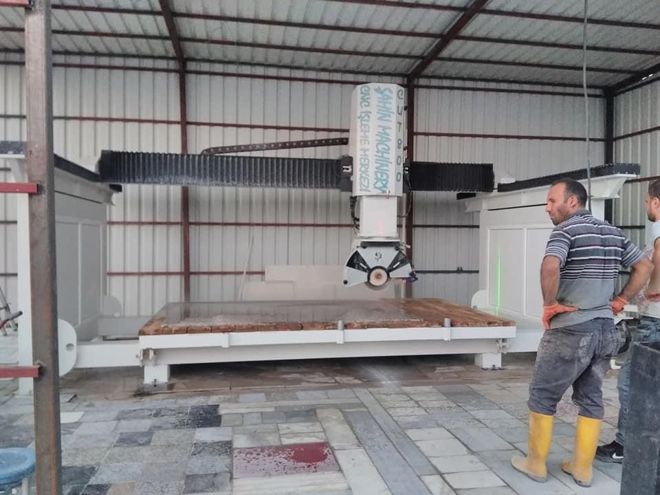 Satın al CNC Köprü Kesim Makinası Şahin Mermer makinaları
