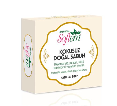 Satın al Natural White Soap no Scent / Kokusuz Beyaz Sabun