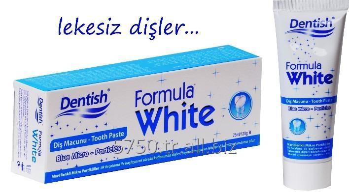 Satın al DENTISH TOOTH PASTE FORMULA WHITE