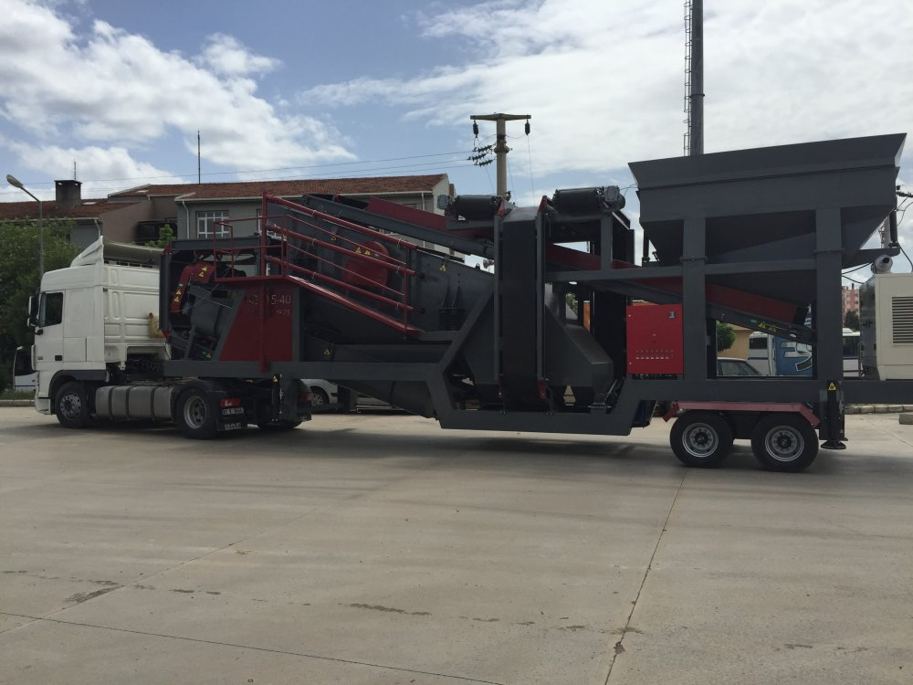 Buy Mobile Sand Washing and Screening Plant