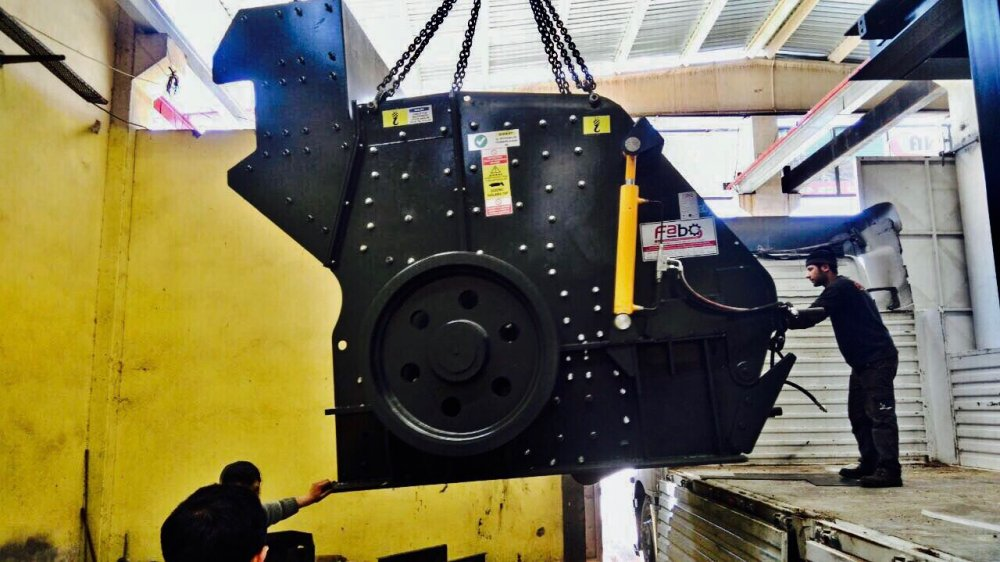 Buy Secondary Impact Crusher | FABO manufactured | 250-350 tPH
