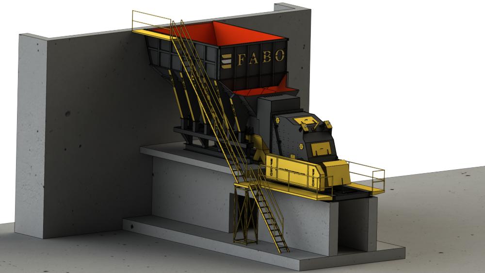 Купить 500 мм|Первичная Ударная Дробилка|FABO продукт