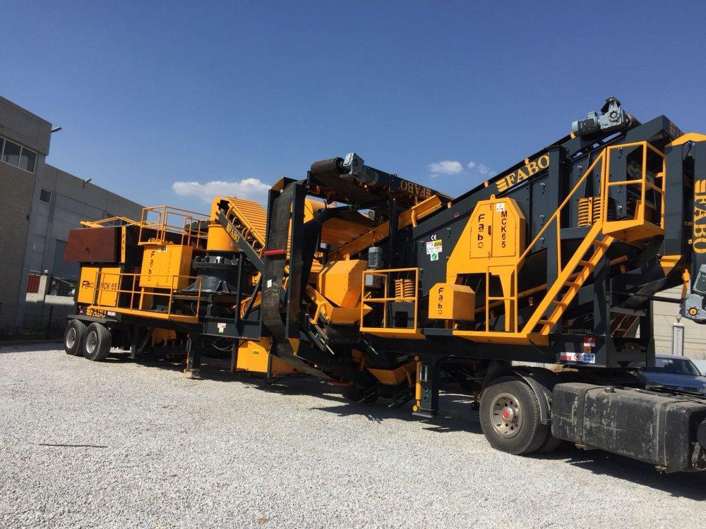 Buy MCK-65 Mobile Crushing & Screening | For Granite