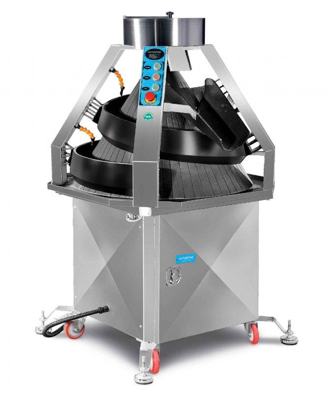 Konik yuvarlama makinesi hamur parçalarını yuvarlamak için