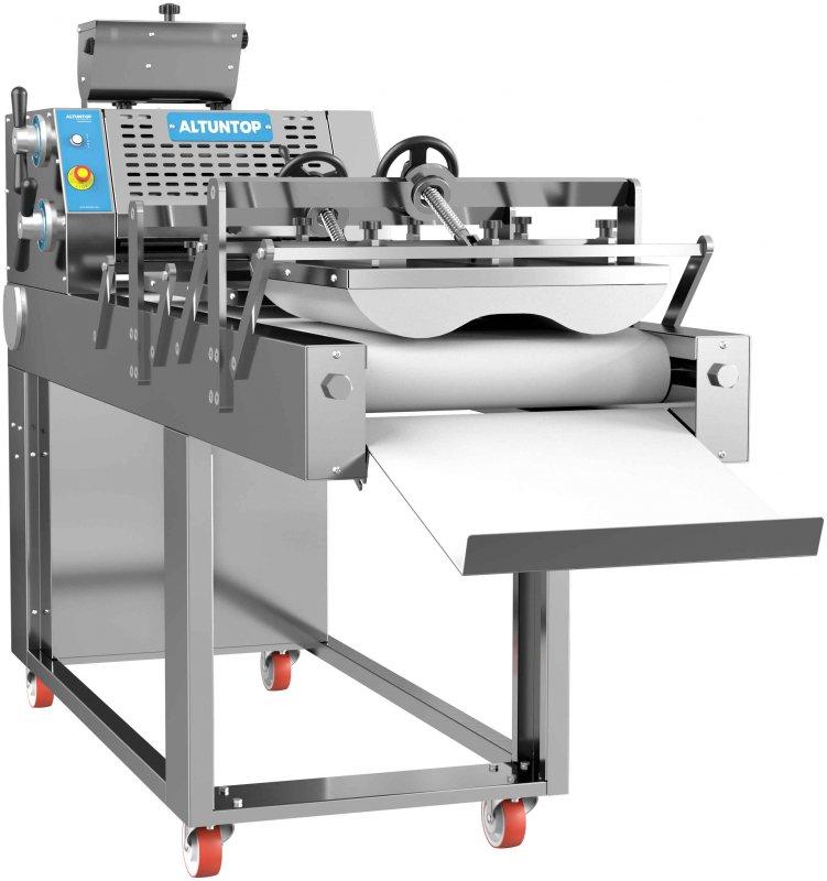Uzun şekil verme makinesi hamur işleme için