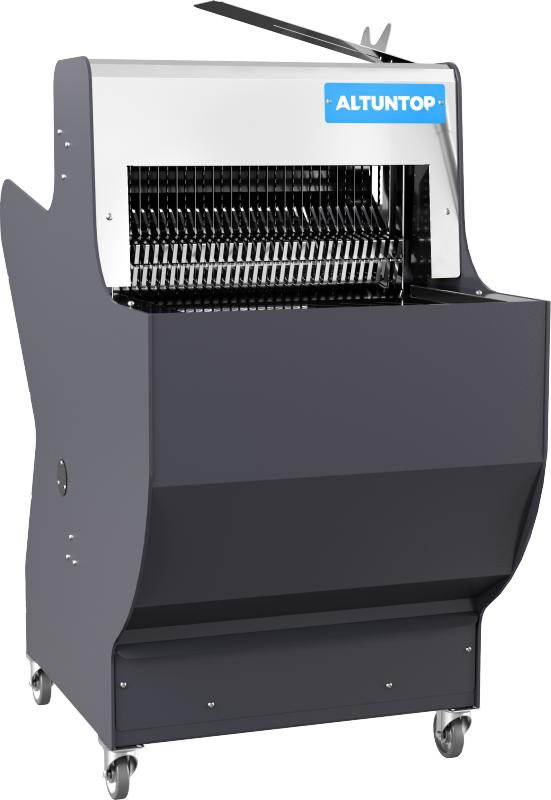 Kolsuz ekmek dilimleme makinesi her tür ekmeği eşit parçalara ayırmak için