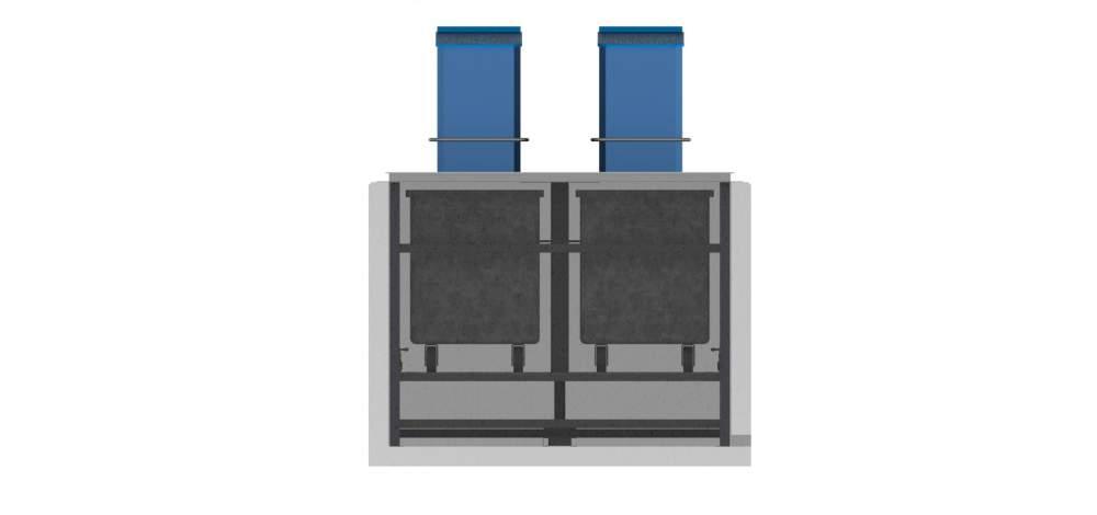Satın al Lifli yeralti çöp konteyner sistemleri