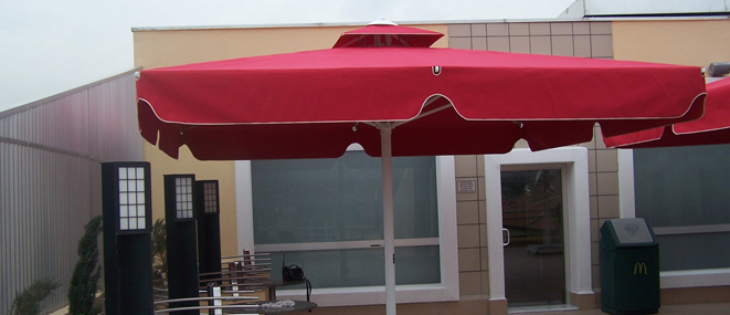 Ankara'de Dev şemsiyeler al