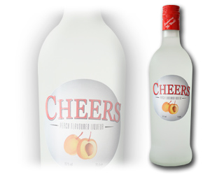 Cheers Peach Liqueurs