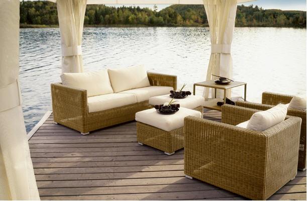 Bahçe mobilyaları oturma grupları