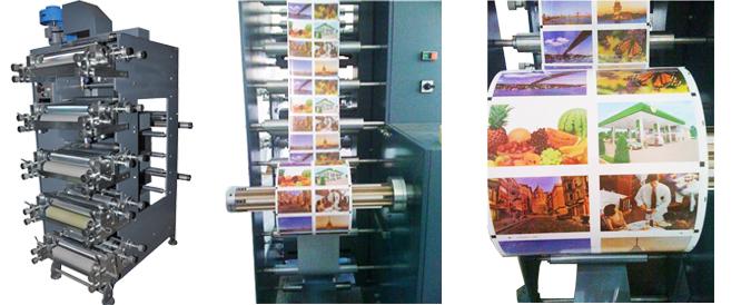 Satın al Flexo Baskı Makinesi