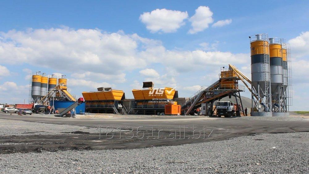 INS MBS 120 BS 2 - Twin chassis Mobile concrete batching plant