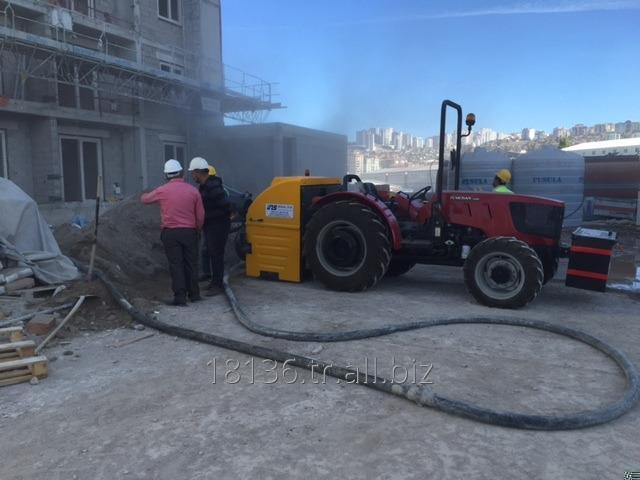 INS SCREED MACHINE WITH TRACTOR  (FIRST IN THE WORLD)
