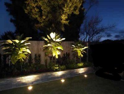 Bahçe aydınlatması