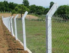 Postes de hormigón armado para las cercas