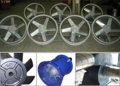 Sanayi tipi fan ve aspiratörler