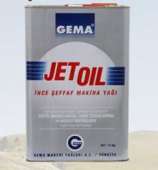 Jet Oil Serisi endüstriyel yağlar