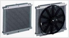 Shell tipi aluminyum yağ/hava soğutucu sistemleri