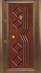 Desenli Çelik Kapı