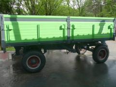 Düz traktör römorku