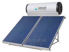 Complete solar water heating systems