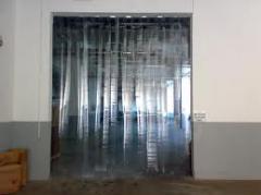 Pvc şerit perde ve kapı