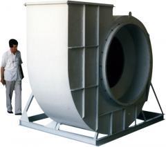 Geriye eğik kanatlı radial fanlar