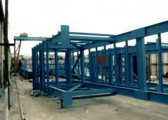 Steel crossbars