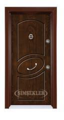 Çelik Kapı Rustik Panel