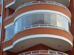 Glasstech katlanır cam balkon sistemleri