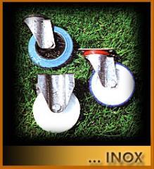 İnox tekerlekler